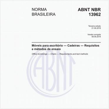 NBR13962 de 06/2018