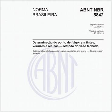 NBR5842 de 09/2015