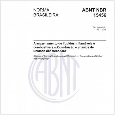 NBR15456 de 11/2016