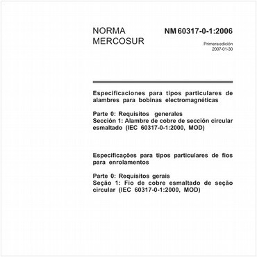 NM60317-0-1 de 01/2007