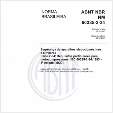 NBRNM60335-2-34 de 01/2007