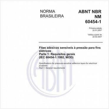 NBRNM60454-1 de 01/2007