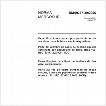 NM60317-20 de 01/2007