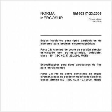 NM60317-23 de 01/2007