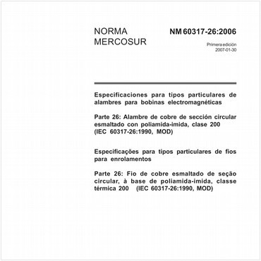 NM60317-26 de 01/2007