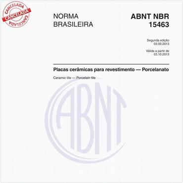 NBR15463 de 09/2013
