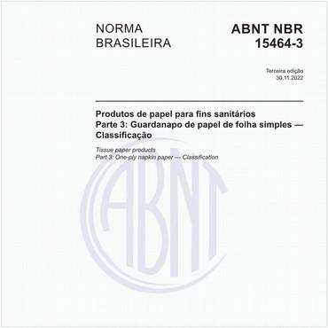 NBR15464-3 de 02/2007