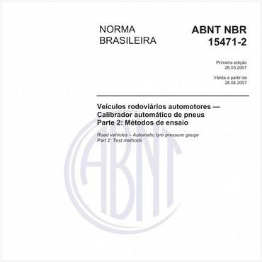 NBR15471-2 de 03/2007