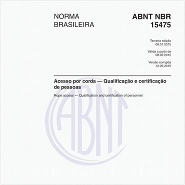 NBR15475 de 01/2015