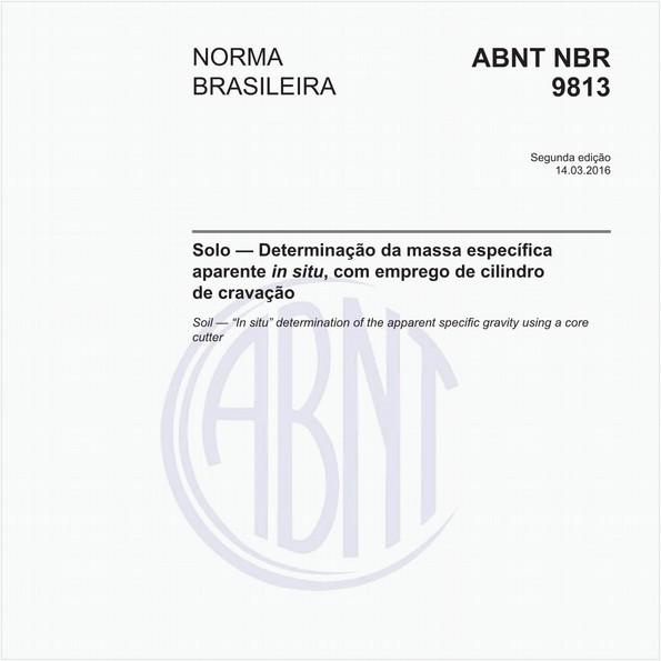 NBR9813 de 03/2016