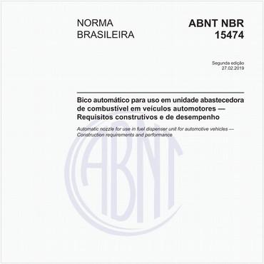 NBR15474 de 02/2019