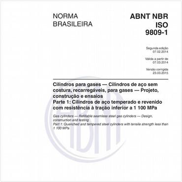 NBRISO9809-1 de 02/2014