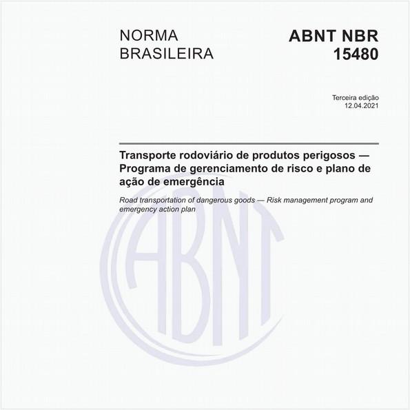 Transporte rodoviário de produtos perigosos - Programa de gerenciamento de risco e plano de ação de emergência