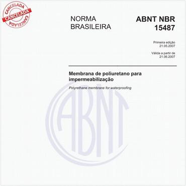 NBR15487 de 05/2007
