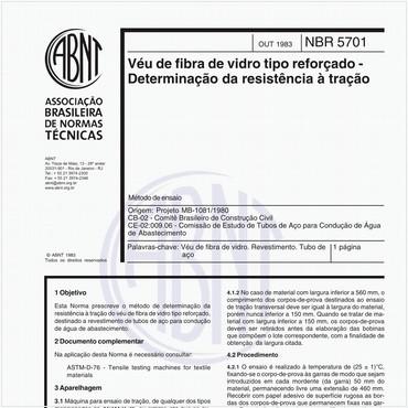 NBR5701 de 10/1983
