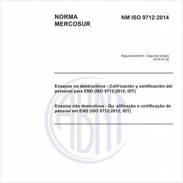 NM-ISO9712 de 01/2014