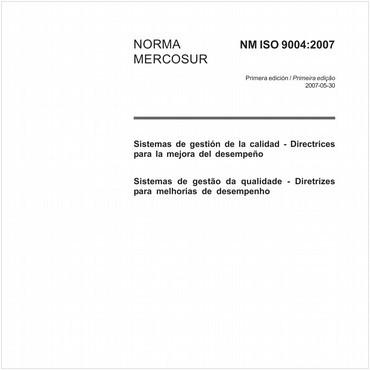 NM-ISO9004 de 05/2007