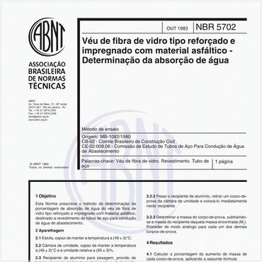 NBR5702 de 10/1983