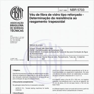 NBR5703 de 10/1983