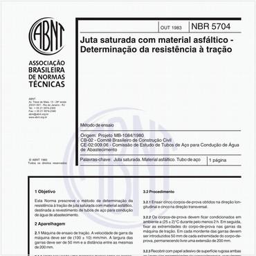 NBR5704 de 10/1983