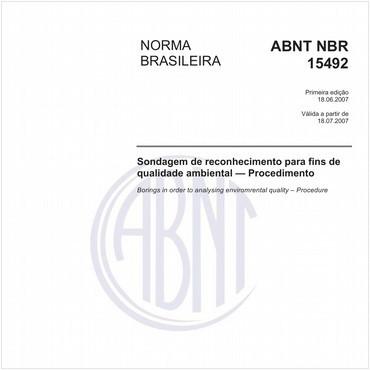 NBR15492 de 06/2007