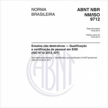 NBRNM-ISO9712 de 02/2014