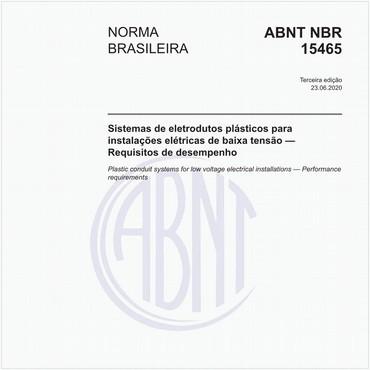 NBR15465 de 08/2008