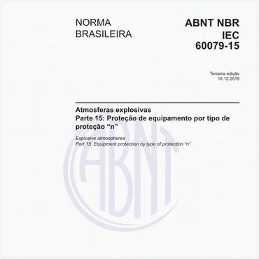 NBRIEC60079-15 de 06/2012