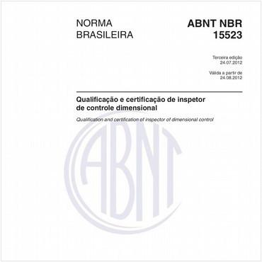 NBR15523 de 07/2012