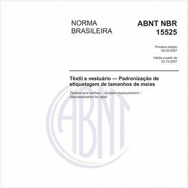 NBR15525 de 09/2007