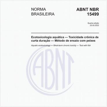 NBR15499 de 04/2016