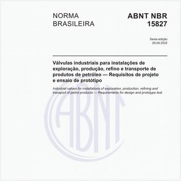 NBR15827 de 12/2018