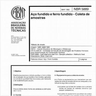 NBR5889 de 03/1982