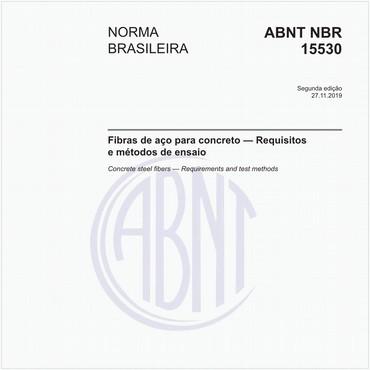 NBR15530 de 10/2007