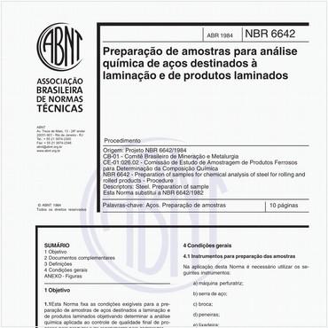 NBR6642 de 04/1984