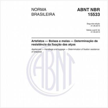 NBR15533 de 08/2013