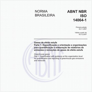 NBRISO14064-1 de 11/2007