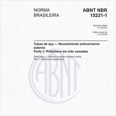 NBR15221-1 de 09/2015