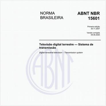 NBR15601 de 11/2007