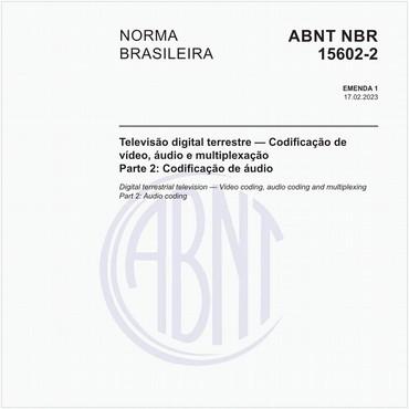 NBR15602-2 de 11/2007