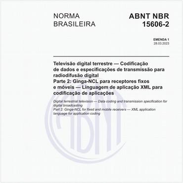 NBR15606-2 de 10/2018