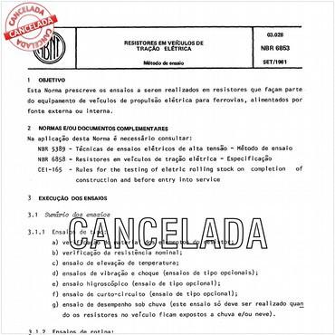 NBR6853 de 09/1981