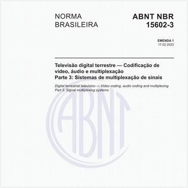 NBR15602-3 de 11/2007