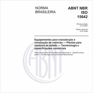 NBRISO15642 de 12/2007