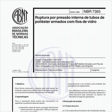 NBR7365 de 05/1982