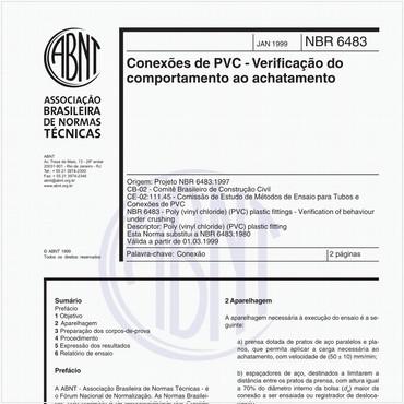 NBR6483 de 01/1999