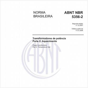 NBR5356-2 de 12/2007
