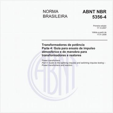 NBR5356-4 de 12/2007