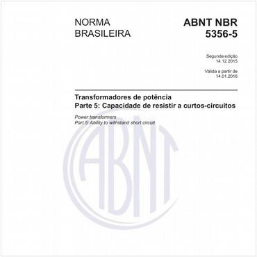 NBR5356-5 de 12/2015