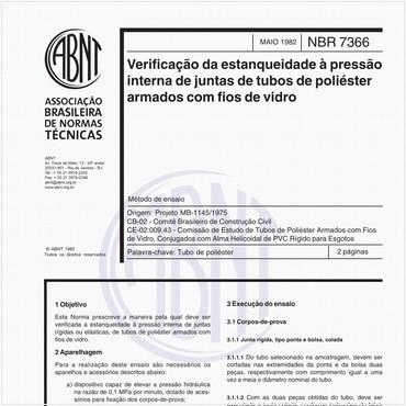 NBR7366 de 05/1982